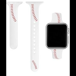 Baseball Apple Watch band